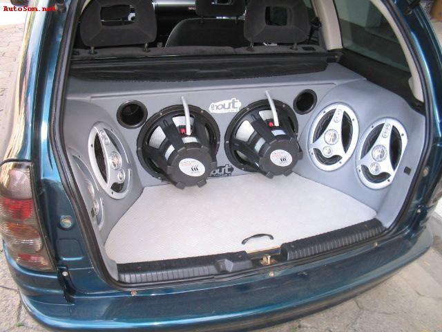 """Corsa Wagon 1.6 GLS - rodas 16"""" - personalização interna completa"""